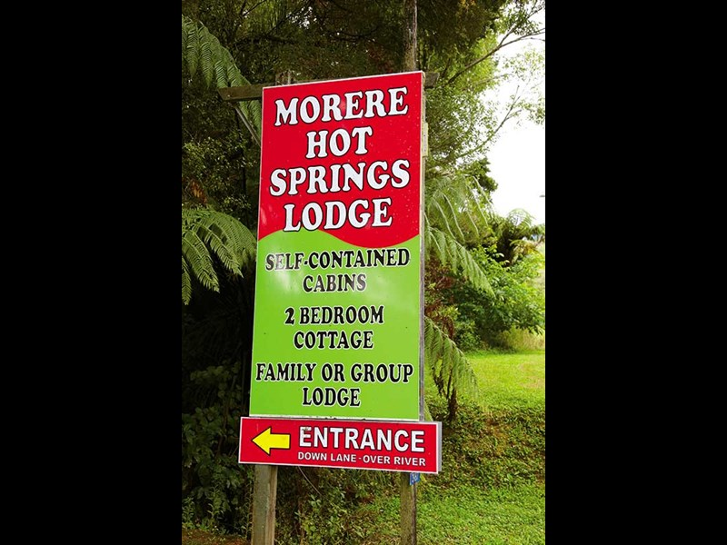 Morere Hot Springs