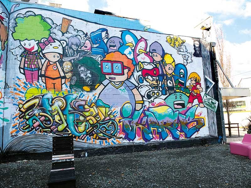 Check out these amazing murals in Christchurch...