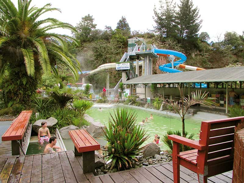 North Island hot pool tour of New Zealand