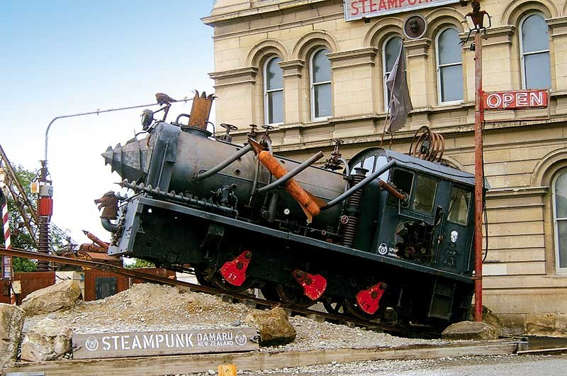 Oamaru: history as it might have been