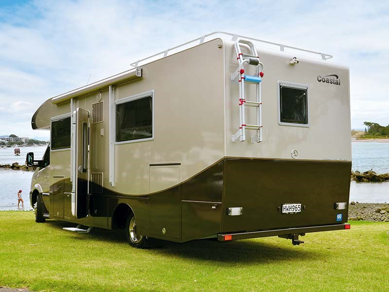 Custom built Paragon motorhome