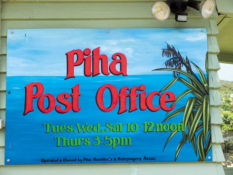 Motorhome friendly Piha