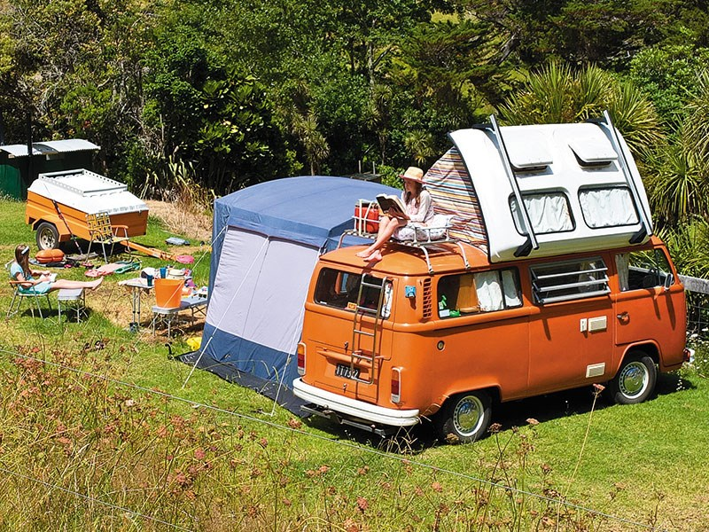 Retro pop-top campers are cool again