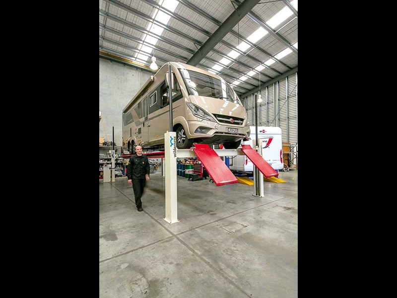 Basic motorhome maintenance checks