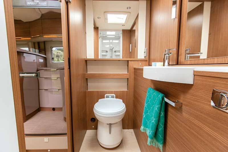 Motorhoming & caravanning tips: self-containment