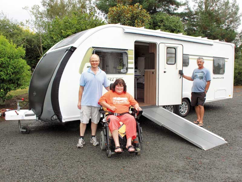 Wheelchair friendly Swift Sprite Quattro FB