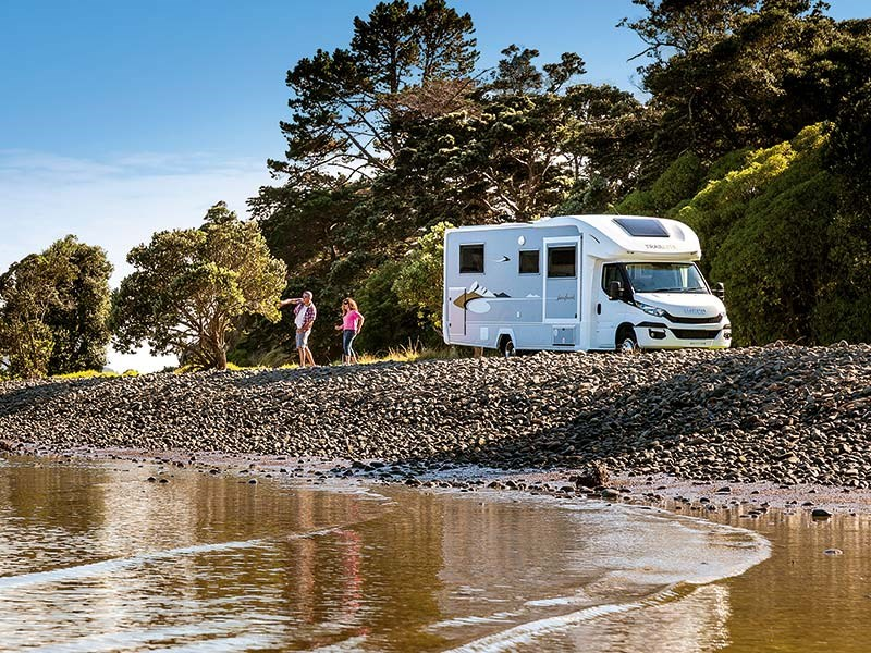 Motorhome review: TrailLite Landmark Oakura 763X