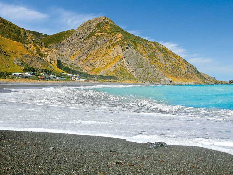 The Wairarapa Coast's legendary landscapes…