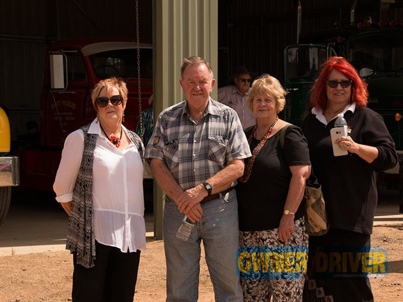 Bette Phillips, Doug Weedon, Sandra Mason and Liz Martin explore the new attraction.