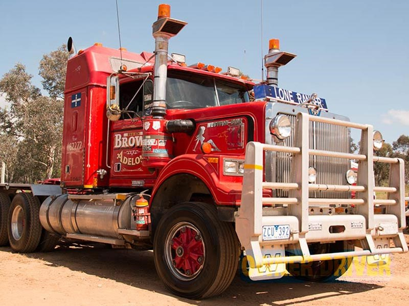 Bunny Brown has clocked up more than 5.5million km in his 1987 Western Star and wants to house it at the museum.