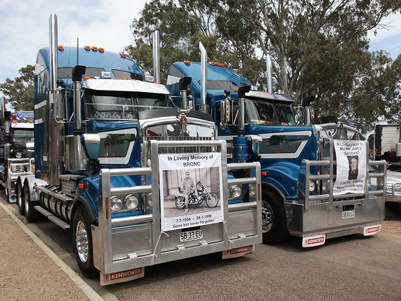 White Hill Convoy 2016 Events Murray Bridge racecourse OwnerDriver 112