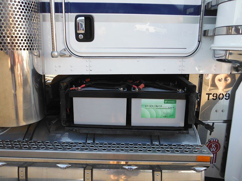 "Independent batteries for a ""Koolkat"" refrigerative system."