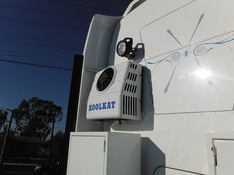A Koolkat refrigerative air-conditioning system.