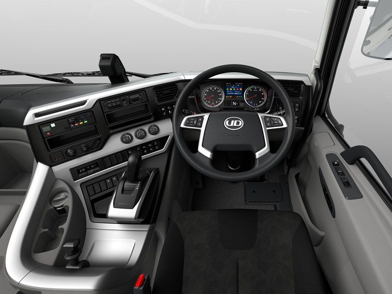 UD Trucks New Generation Quon Interior