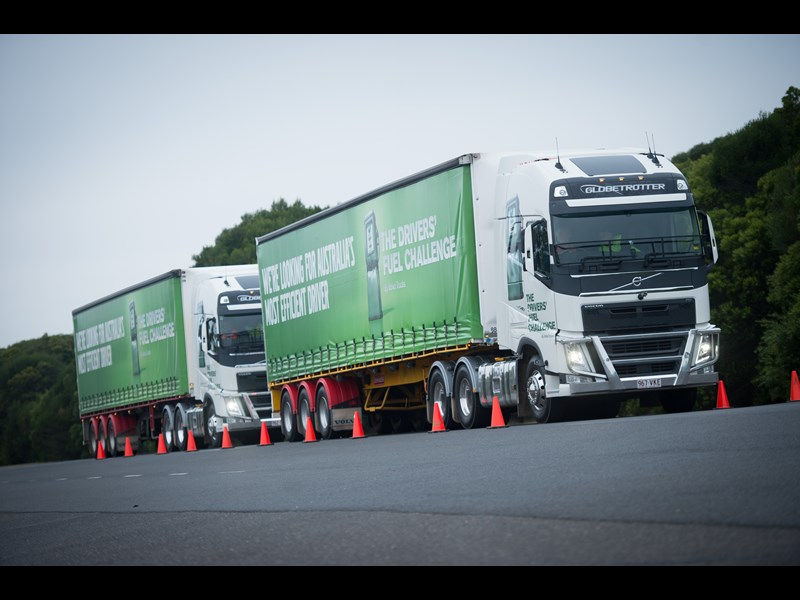 The 2017 Volvo Drivers' Fuel Challenge takes transport into the future.