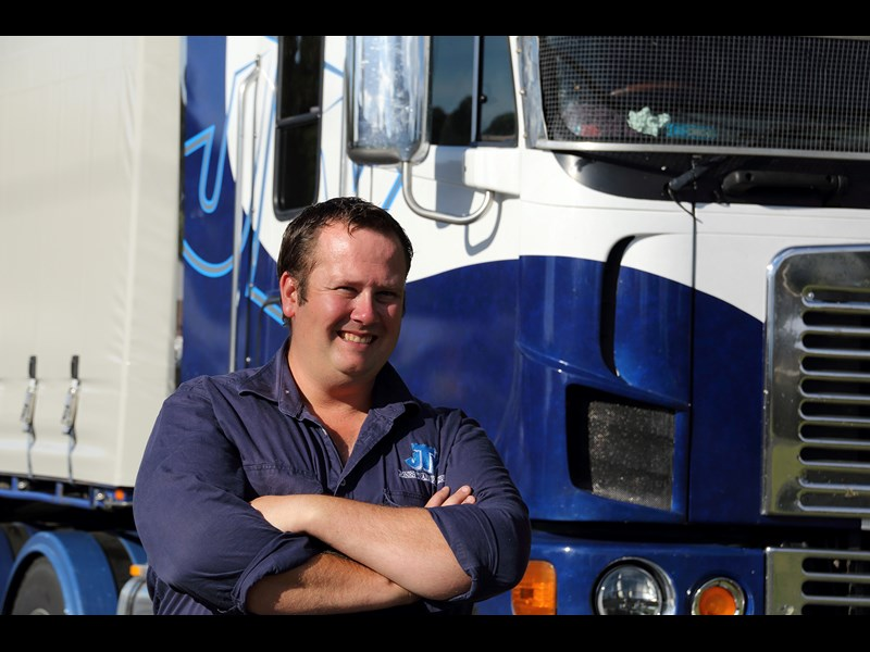 Adrian Jones fulfilled his dream of becoming a livestock carrier and diversified into general freight