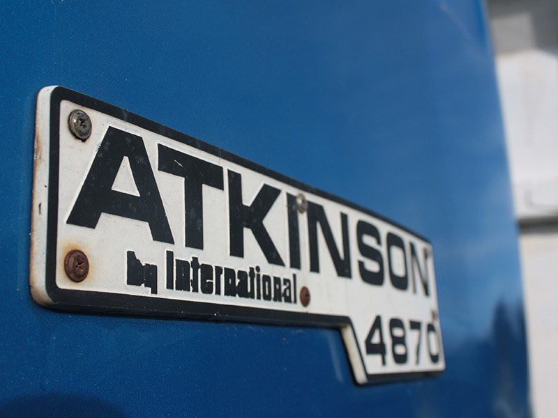 Atkinson International Classic Truck Wood OWD2