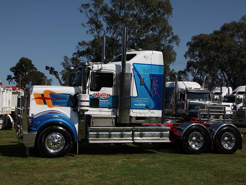 Deniliquin Truck Show and Industry Expo 2016 OWD31