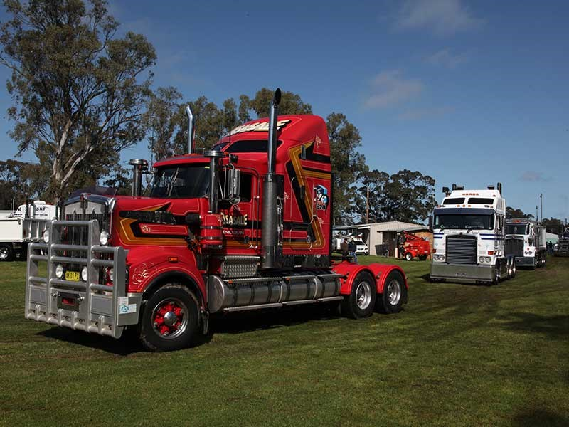 Deniliquin Truck Show and Industry Expo 2016 OWD33