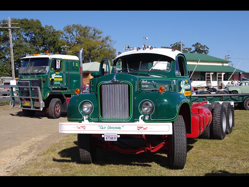 Harrison Transport brought Old Original to Wauchope for the day