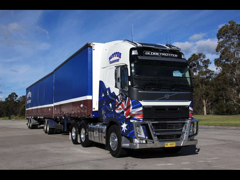 American Volvo the perfect truck for Henry Moreland | News