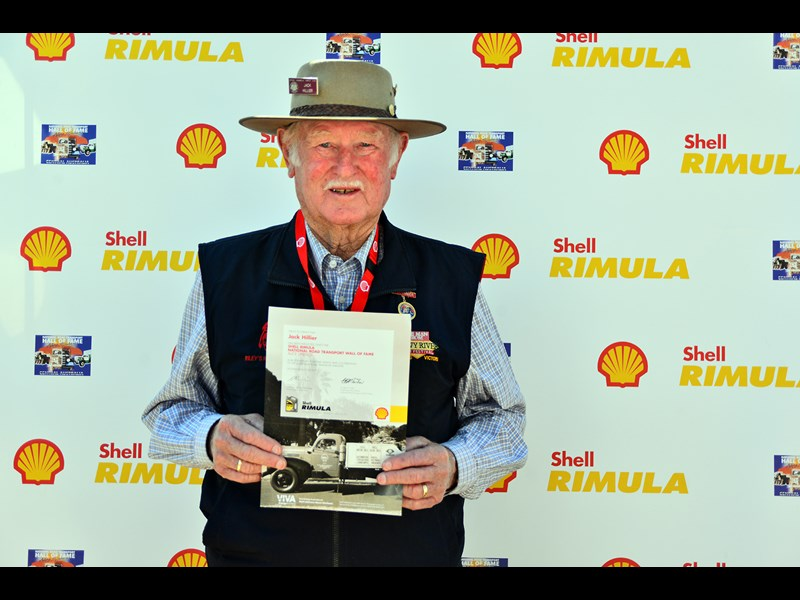 Jack was inducted to the Shell Rimula Wall of Fame at Alice Springs