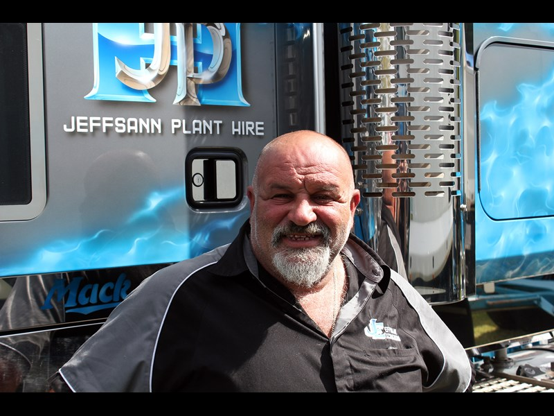 Jeffsann Jeffsann Plant Hire co founder Joe Refalo