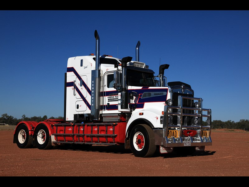 Ken Dillon says the T909 is the best Kenworth in his small fleet