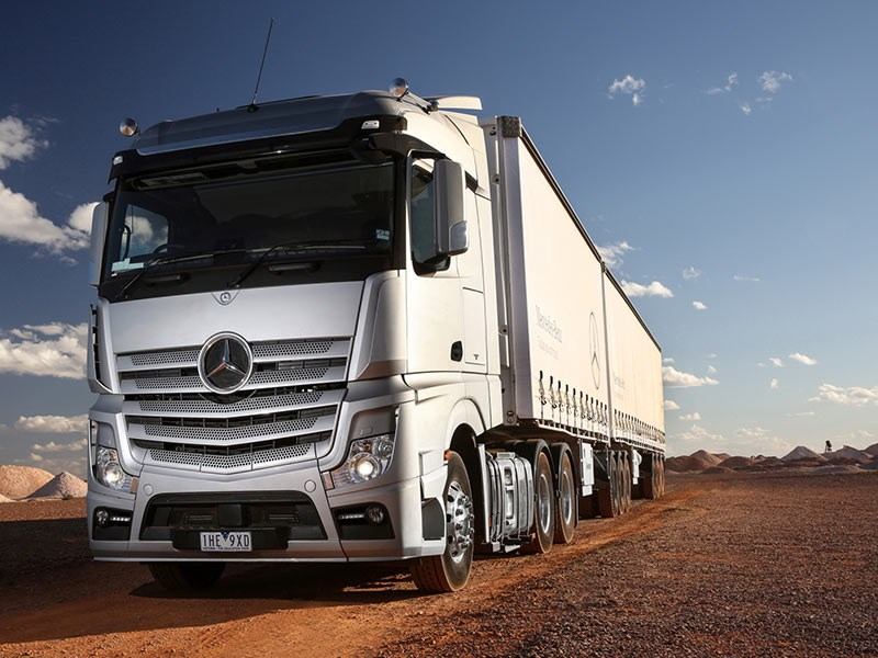 Mercedes Benz Actros Launch OWD