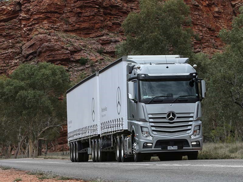 Mercedes Benz Actros Launch OWD2