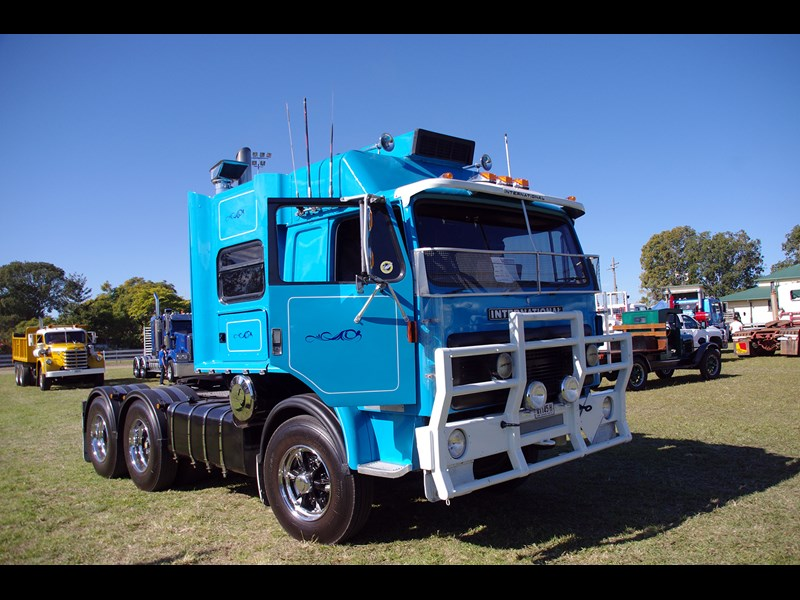 One of many International trucks that turned up on the day