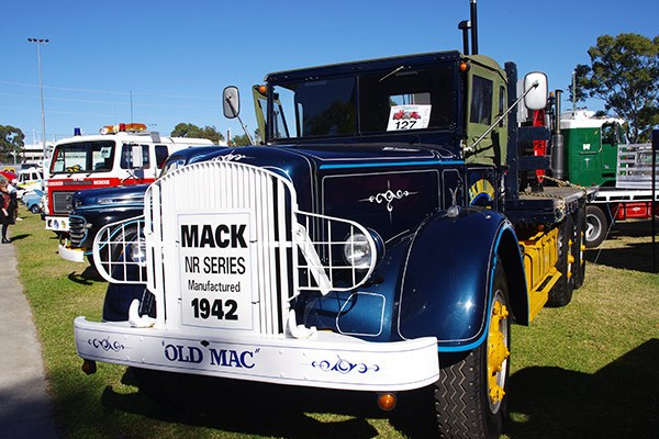 J. K. Williams' '42 NR Series Mack.
