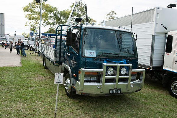 Pressfreight's Fuso won the Best Tray Top Rigid up to 2012 trophy.