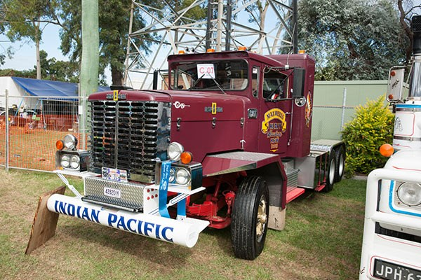 Kirby Maxwell's well-travelled 1970 Oshkosh was voted Best Old Non-Working over 2 Tonne Tare.