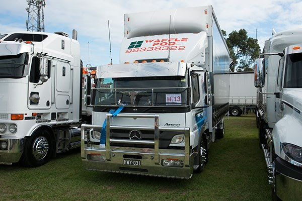 James Miller Transport's 2012 Ateco picked up the Best Mercedes-Benz trophy.