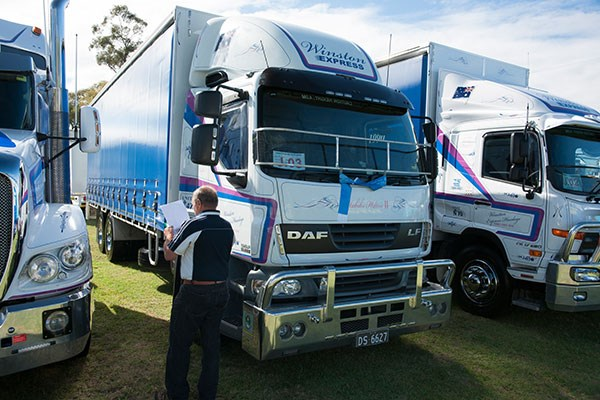 This 2012 DAF LF was a category winner for Winston Express Haulage.