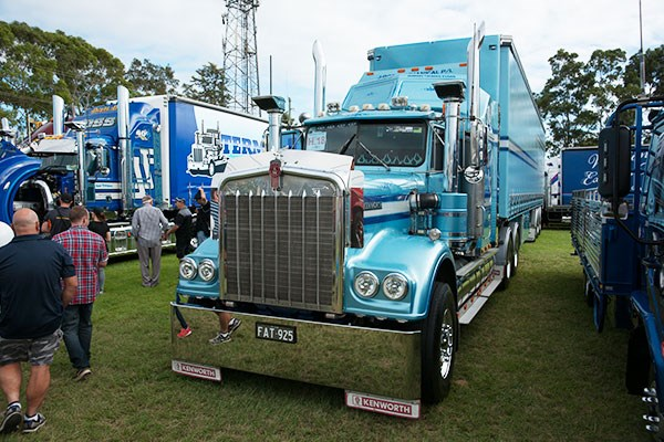 J-Rod Mechanical's '83 Kenworth hauled the Best Tautliner Trailer of the show.