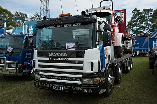 Llandilo Tilt Trays won the Best Scania award.