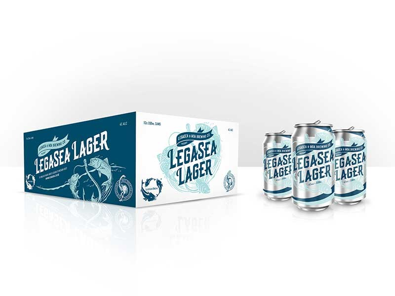 Moa releases LegaSea Lager to support fishing