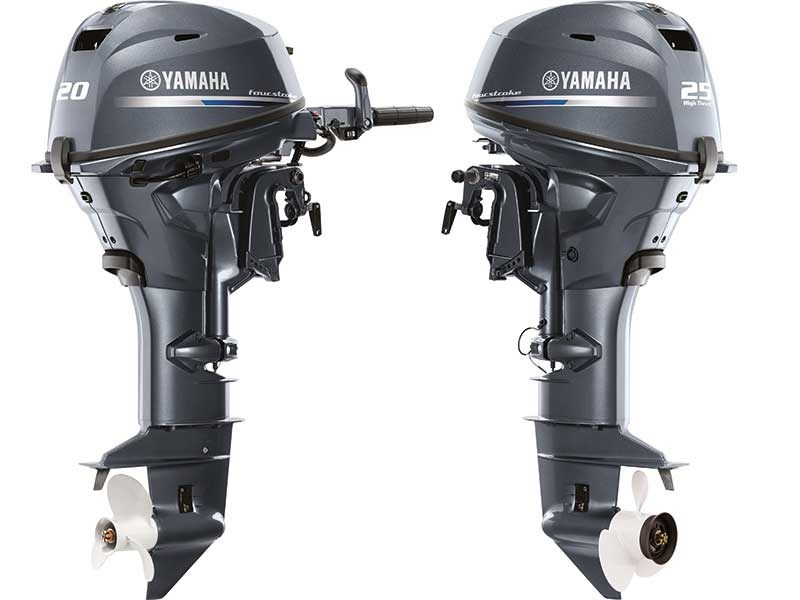 F20 and T25 portable outboards from Yamaha