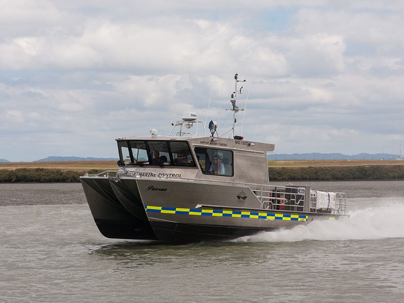 New marine rescue fleet launched at Auckland Airport