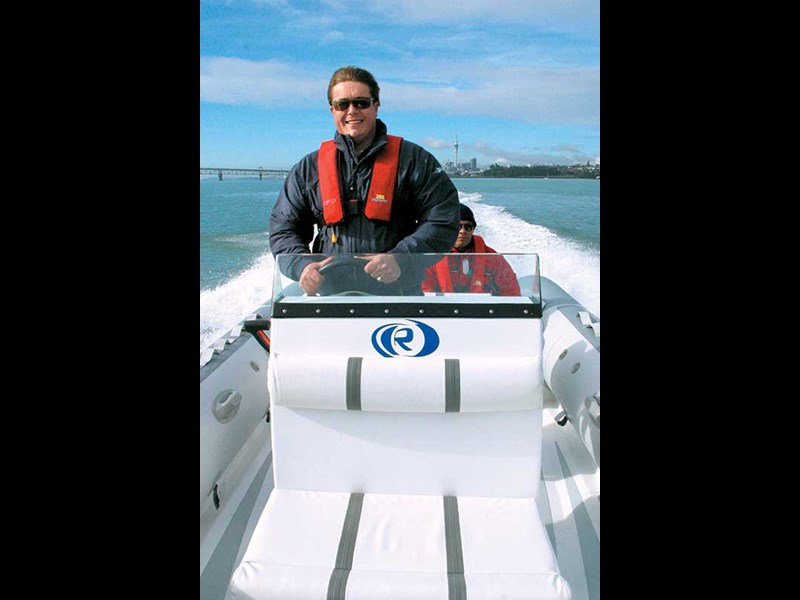 Looking back: Aquapro 6.4m RIB boat test