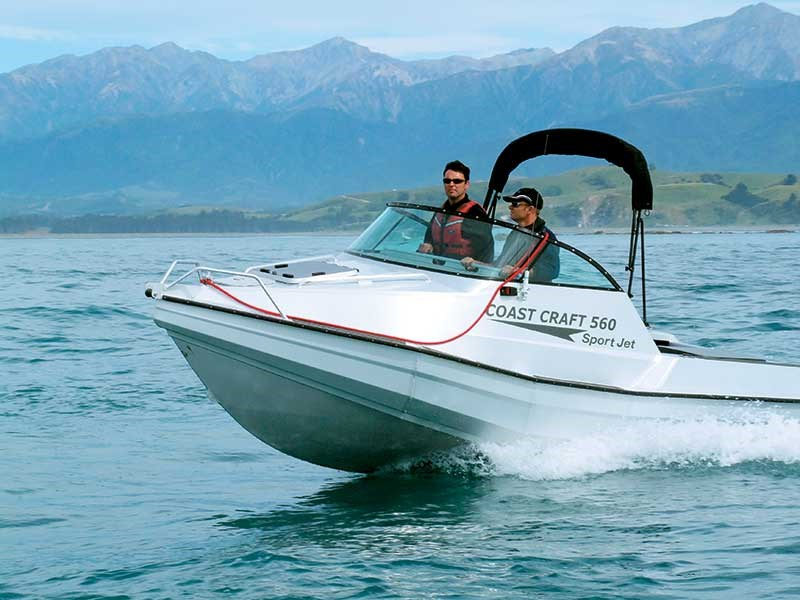 Looking back: Coast Craft 560 Pontoon/Jet