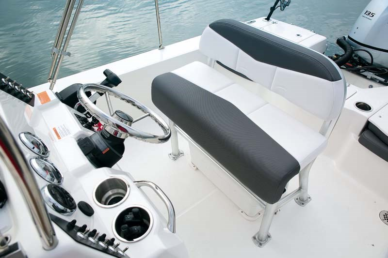 Helm on Robalo Cayman 206