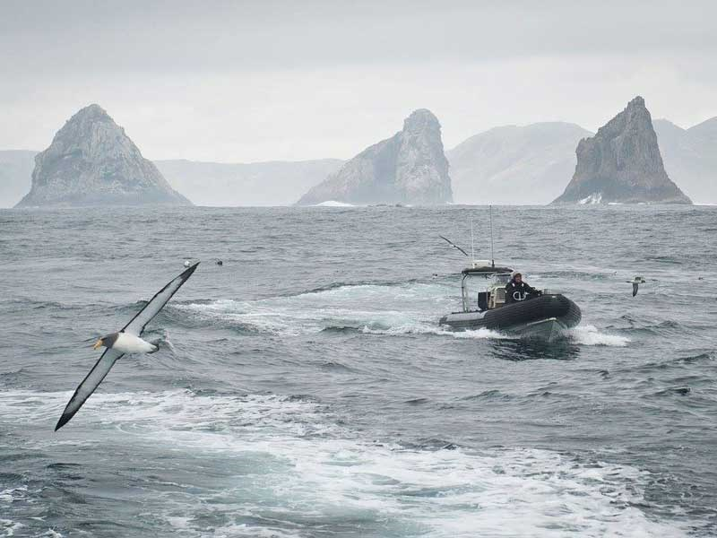 NZDF And MPI patrol remote Chatham Islands fishery