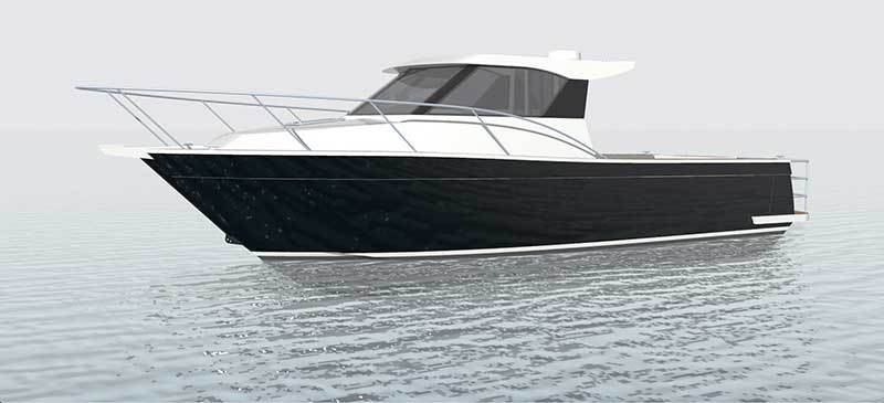 New Custom 930 due from Pinnacle Boats