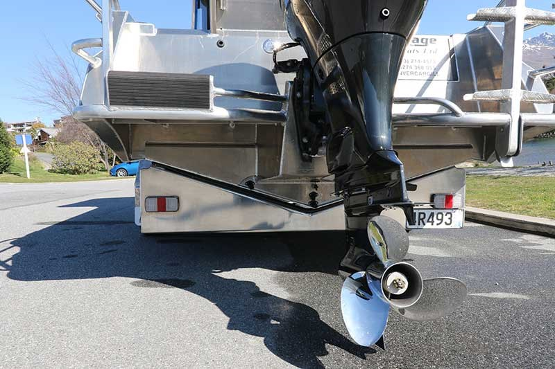 Image Boats 7.08m Pontoon Alloy