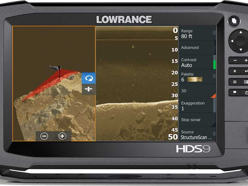 Lowrance debuts StructureScan 3D