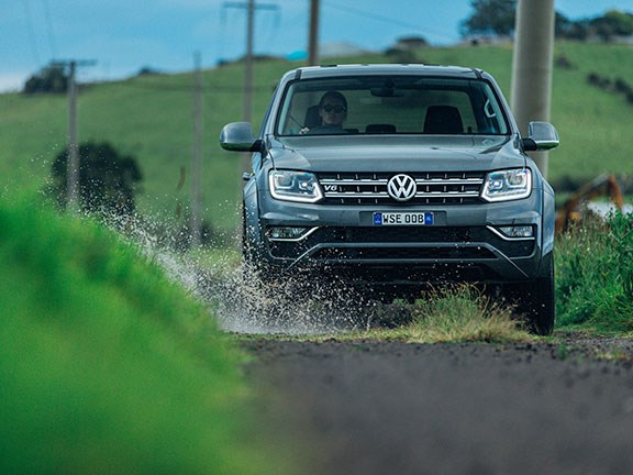 The Volkswagen Amarok Ultimate TDV6 ute