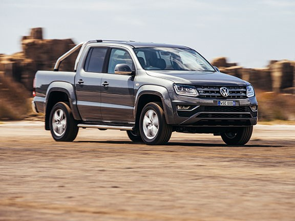 The Volkswagen Amarok Ultimate TDV6 ute is driven by a 3-litre, common-rail, turbo-diesel V6 engine